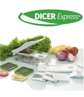 Dicer Express Decoupe Legumes et Fruits
