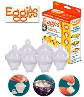 Eggies Cuiseur à Oeufs 2x1