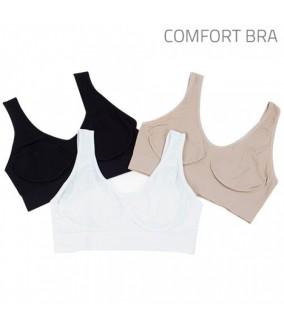 Soutiens Gorges Comfort Bra (Pack 3)