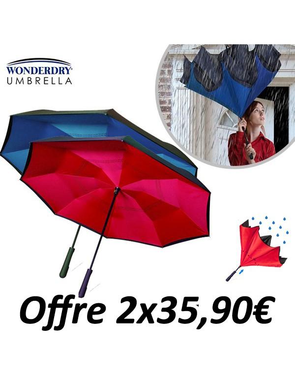 Parapluies Wonderdry, Astucio, Parapluie reversible, Parapluie Astucio, Better Brella